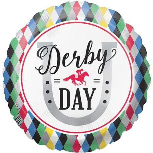 Ballon Derby Day, harlequin