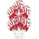 Blood Splatter Balloons, 6-pc