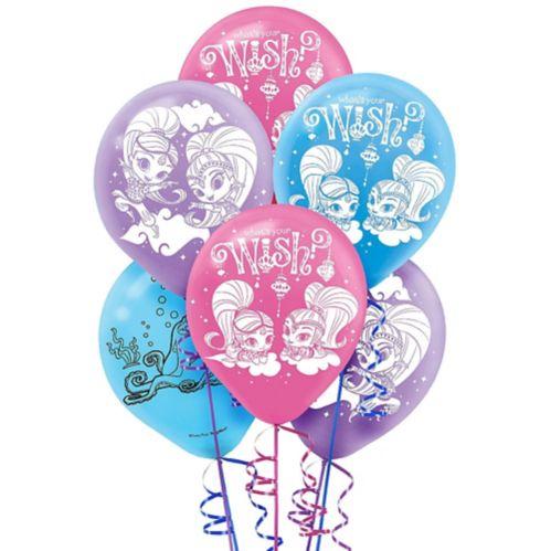 Ballons Shimmer & Shine, paq. 6