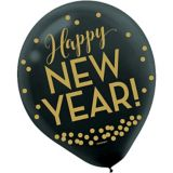 Countdown New Year's Balloons, 12-pk | Amscannull