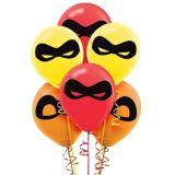 Ballons Les Incroyables2, paq. 6 | Disneynull