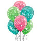 Selfie Celebration Birthday Balloons, 6-pk | NAnull