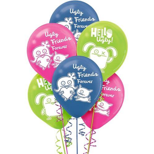 UglyDolls Balloons, 6-pk