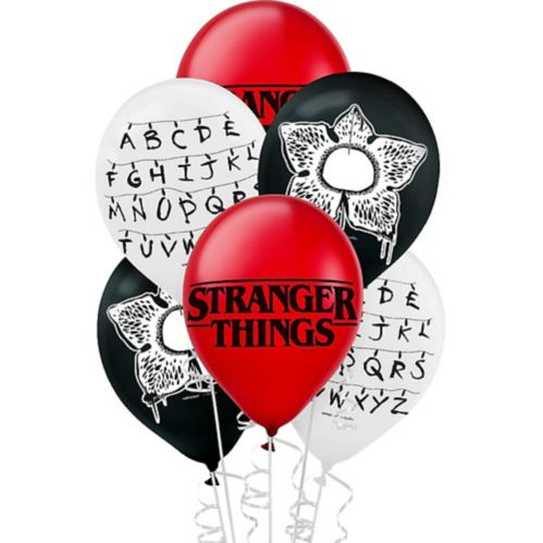 Ballons Stranger Things, paq. 6