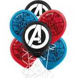 Ballons Marvel Powers Unite, paq. 6 | Marvelnull