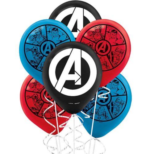Marvel Powers Unite Balloons, 6-pk