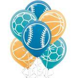 Birthday Baller Latex Balloons, 6-pk | NAnull