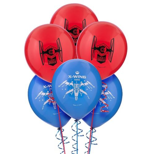 Star Wars 7 The Force Awakens Balloons, 6-pk