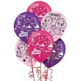 Pink PAW Patrol Balloons, 6-pk | Nickelodeonnull