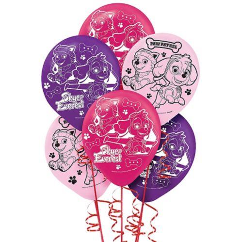 Ballons Pat'Patrouille, rose, paq. 6