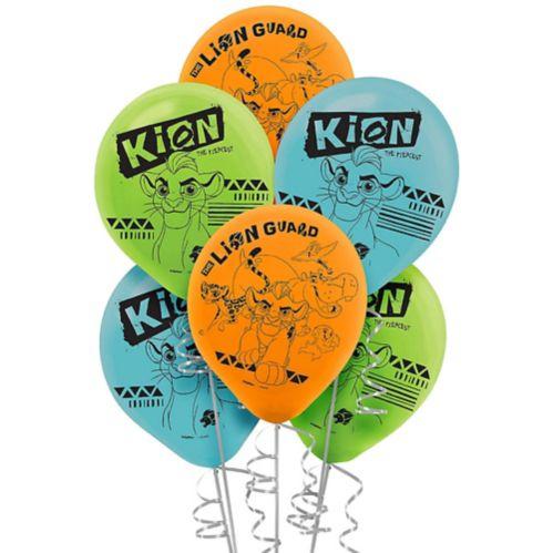 Ballons La Garde du Roi lion, paq. 6