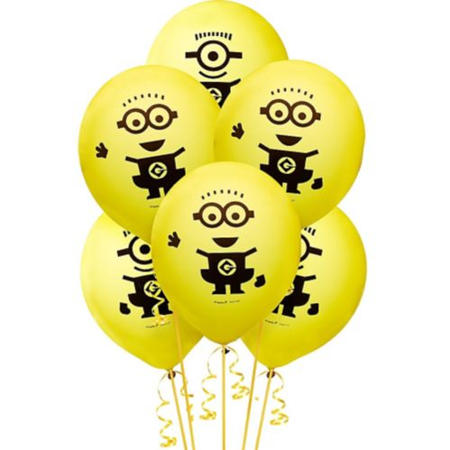 Minions Balloons, 6-pk Product image