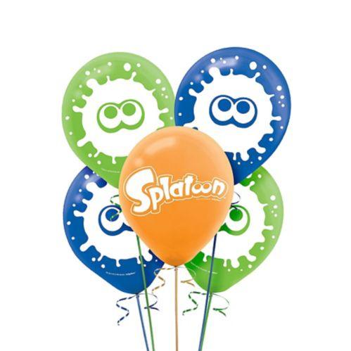 Splatoon Balloons, 5-pk