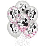 Minnie Mouse Forever Confetti Balloons, 6-pk | Disneynull