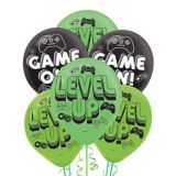 Level Up Latex Balloons, 6-ct | Amscannull