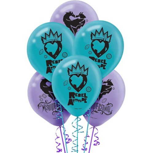 Descendants 2 Balloons, 6-pk