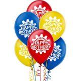 Machine Birthday Balloons, 6-pk | NAnull