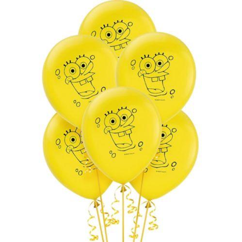 SpongeBob Balloons, 6-pk