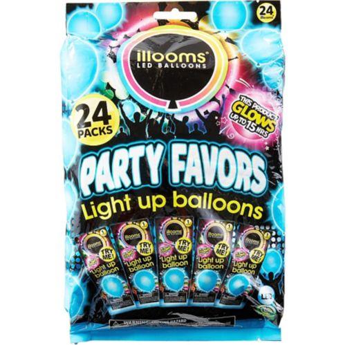 Ballons lumineux à DEL Illooms, paq. 24