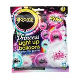 Ballons lumineux à DEL Illooms, princesse, paq. 12