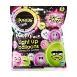 Illooms Light-Up Silly Monsters LED Balloons, 9-in, 12-pk