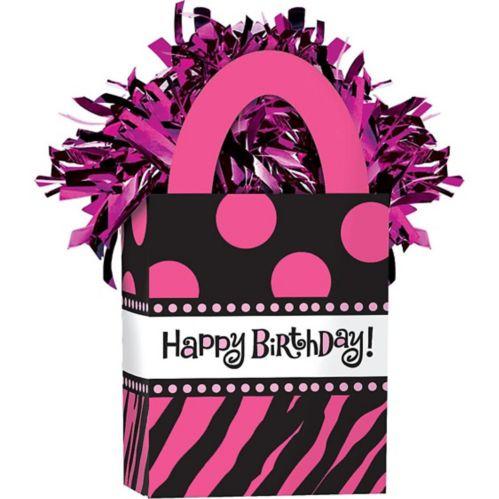 Poids à ballons miniature Joyeux anniversaire fabuleux