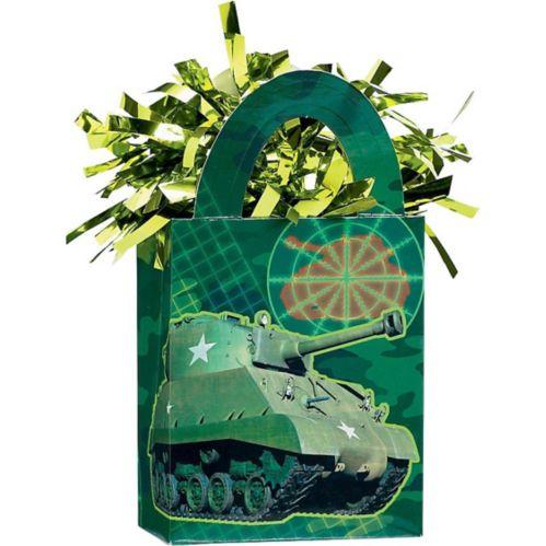 Poids à ballons miniature camouflage