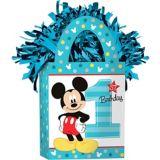 Mickey Mouse 1st Birthday Balloon Weight | Amscannull