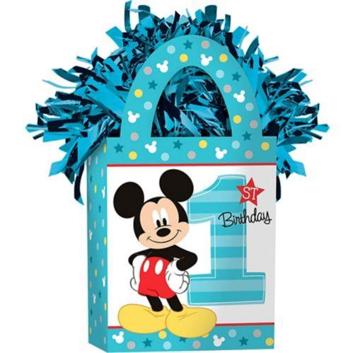 Mickey Mouse 1st Birthday Balloon Weight