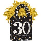 Sparkling Celebration Prismatic 30th Birthday Balloon Weight | Amscannull