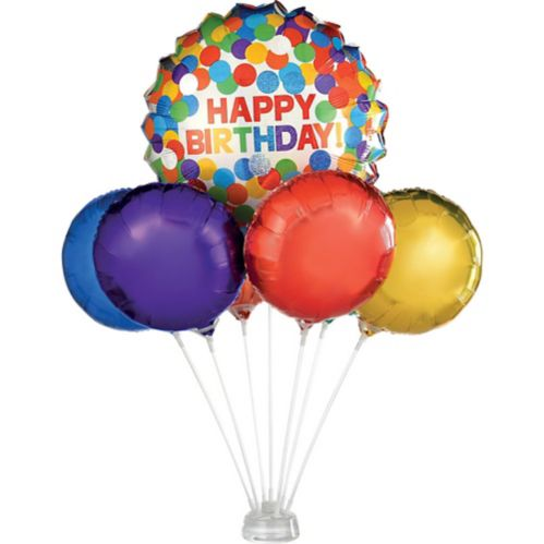 Air-Filled Foil Balloon Centerpiece Base Kit