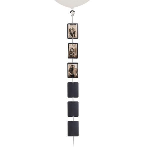Photo Balloon Weight Tail, Black