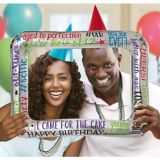 Cadre gonflable Anniversaire marquant | Amscannull