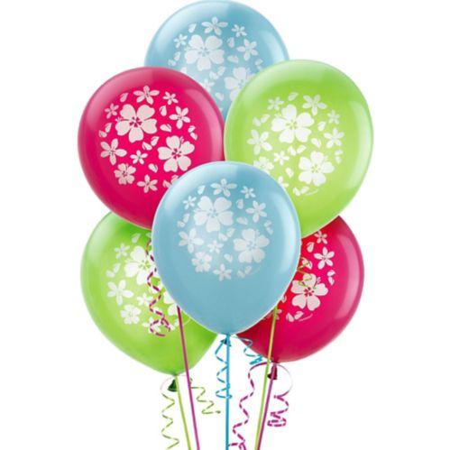 Ballons Hibiscus, paq. 15