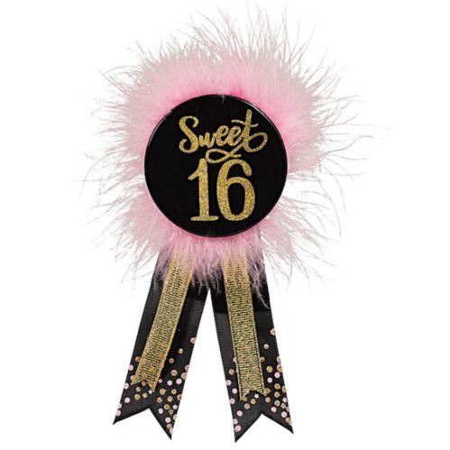 Elegant Sweet 16 Birthday Award Ribbon Product image