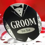 Groom-to-Be Button | Amscannull
