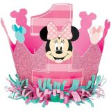 Mini couronne 1er anniversaire Minnie Mouse | Amscannull