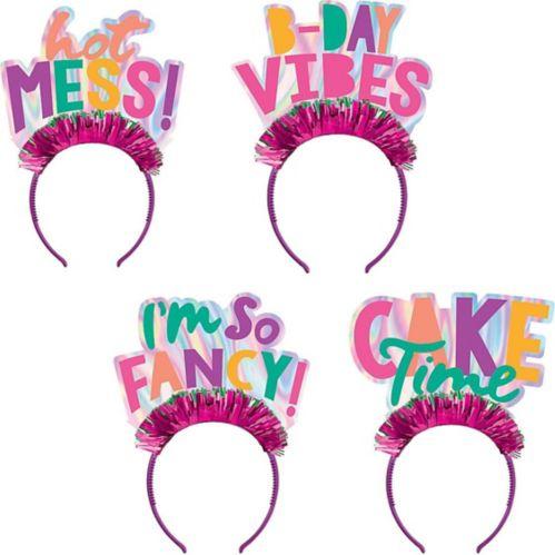 Young & Fab Headbands, 4-pk