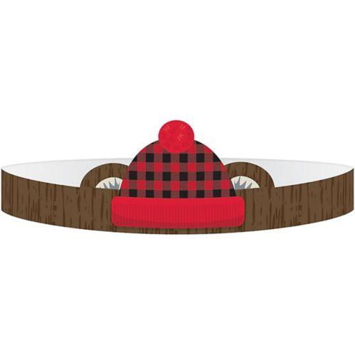 Little Lumberjack Crowns, 8-pk