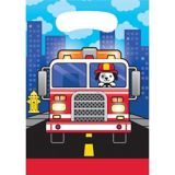 Fire Truck Favour Bags, 8-pk