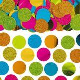 Confettis, multicolore luisant