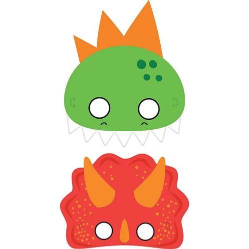 Dino-Mite Masks, 8-pk
