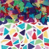 Confettis en papier de soie, multicolore
