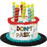 Plush Over the Hill Birthday Cake Hat | Amscannull