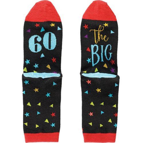Multicolour 60th Birthday Crew Socks
