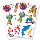 Component Boy Temporary Tattoos | Amscannull