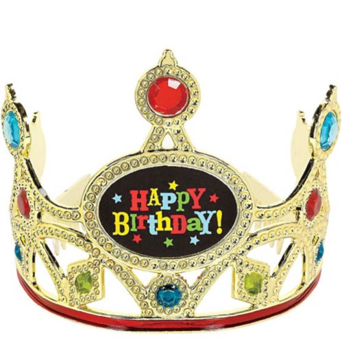 Bright Gem Happy Birthday Tiara