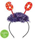 Light-Up 60th Birthday Head Bopper | Amscannull