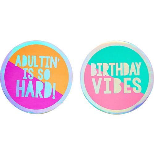 Young & Fab Coasters, 18-pk Product image