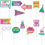 Young & Fab Photo Booth Kit, 14-pcs | Amscannull